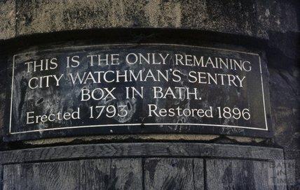 Watchman's Hut, Norfolk Crescent, 1974