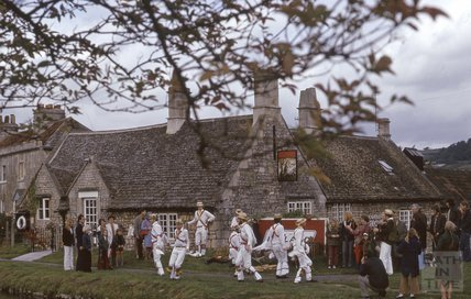 The Bathampton Morris Dancers, The George, Bathampton, 1974