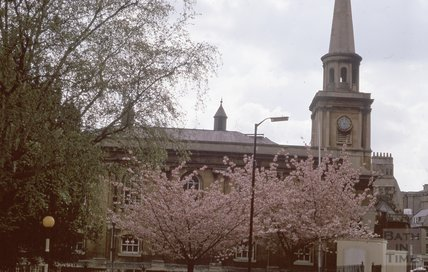 St Swithin's Church, Walcot, 1975