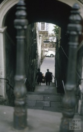Paragon Steps, Bath, 1975
