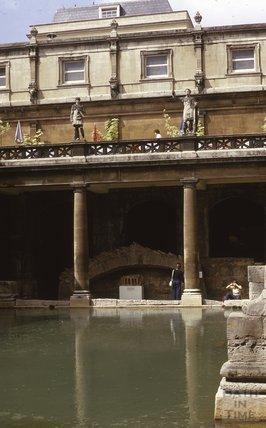 Roman Baths, 1975