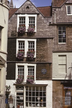 Sally Lunn's, North Parade Passage, 1975