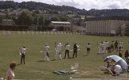 Archery on the Recreation Ground, 1975