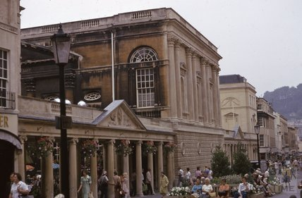 Pump Room Colonnades, Stall Street, Bath,1975
