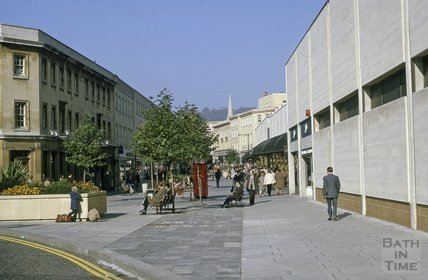 Southgate Street and Centre, 1975