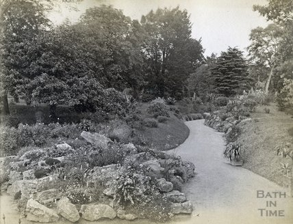 The Botanic Gardens, Royal Victoria Park, Bath c.1890s