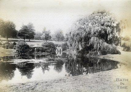 Park Lake, Royal Victoria Park c.1890