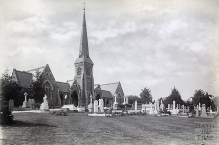 The Chapel, Locksbrook Cemetery c.1890