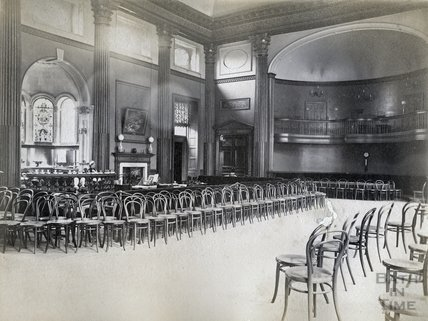 The Pump Room interior, Bath c.1890