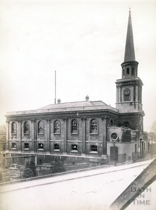 St. Swithin's Church, Walcot c.1890
