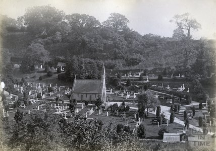Smallcombe Cemetery, Bath c.1880s - 1890s.