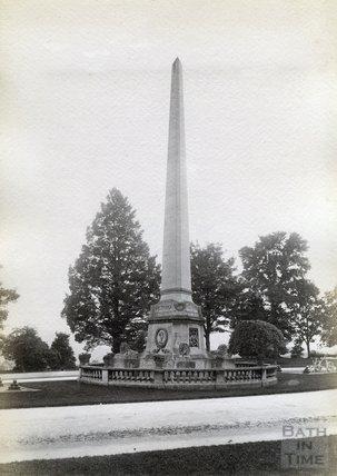 Obelisk, Royal Victoria Park c.1890