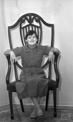 The chair of the Irish Giant - Aldridges 1977