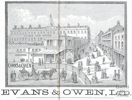 Evans & Owen Ltd., Bartlett Street, St. Andrew's Terrace 1892