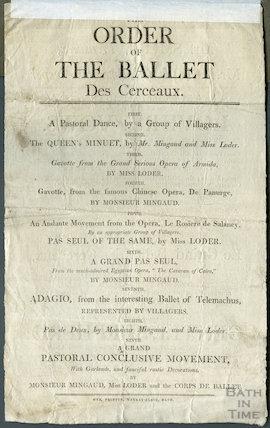 Theatre Royal Bath Playbill, June 2, 1803
