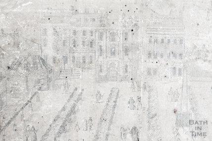 Fan view of Orange Grove 1737 - detail