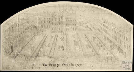 Fan view of Orange Grove 1737