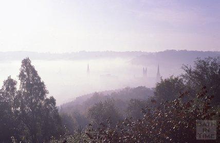 Fog over Bath, Dec 1978