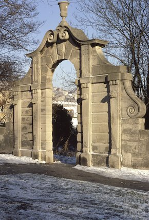 Pinch's Folly, Bathwick Street, in snow, Feb 1979