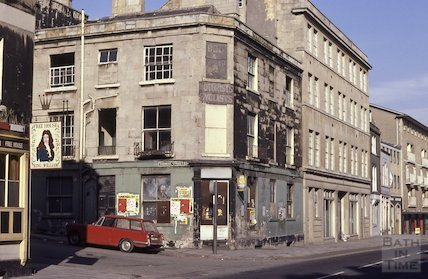 Densley's CafŽ, Thomas Street, Feb 1979