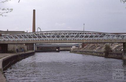 Windsor Bridge and River Avon, Bath, May 1979