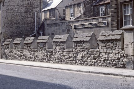 City Wall, Upper Borough Walls, plaque, May 1979