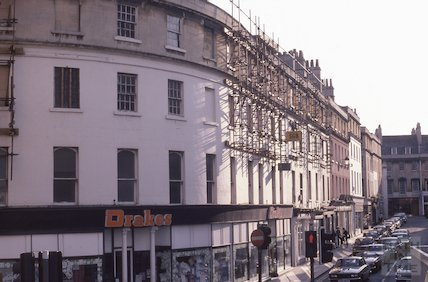 The Plummer Roddis building, New Bond Street, June 1979