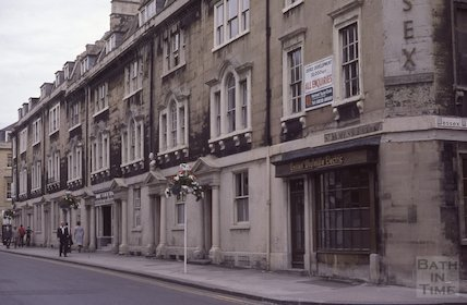 St James Parade, Oct 1979
