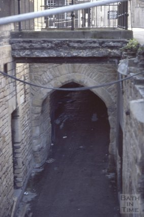East Gate, Boatstall Lane, Bath, Nov 1979