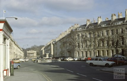 Great Pulteney Street, March 1980