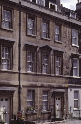 29 & 28 Paragon, Bath,  Aug 1981