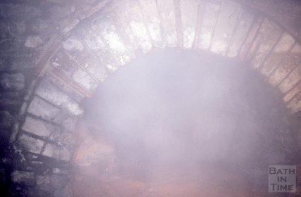 The Great Drain, Roman Baths, March 1983
