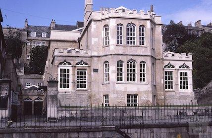 Countess of Huntingdon's Chapel, Vineyards, Aug 1985