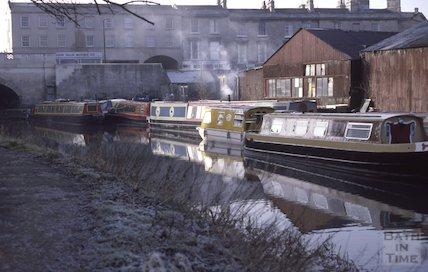 Kennet and Avon Canal, Sydney Wharf, Bath March 1986