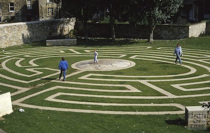 The Beazer Maze in Spring Gardens, Sept 1986