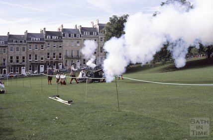 Sealed Knot at the Royal Crescent, Sept 1987
