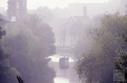 Mist on the River Avon, Bath, Oct 1988