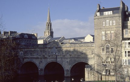 Pulteney Bridge, 1990