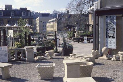 Whiteway Garden Centre, Seven Dials, Sawclose, 1990