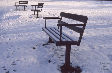Snow scene, 1991