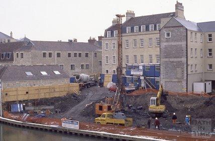Grove Street, Bathwick, 1991