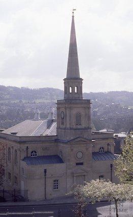 St Swithin's Church, Walcot, 1991