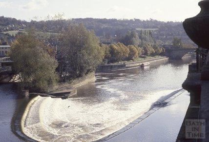 Pulteney Weir, 1991