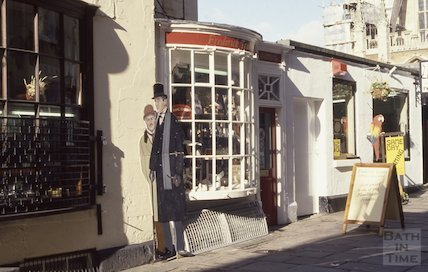 Frederick Tranter's tobacconist shop, Church Street 1991