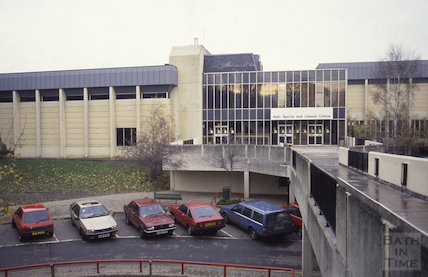 Bath Sports and Leisure Centre, North Parade Road, 1991