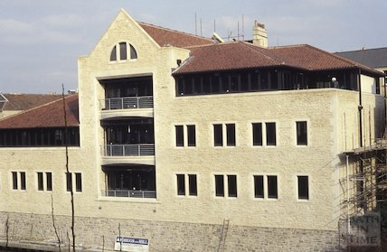Riverside development, Grove Street, Bathwick, 1992