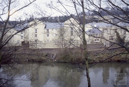 Walcot Gate from Bridgemead, Bathwick, 1992