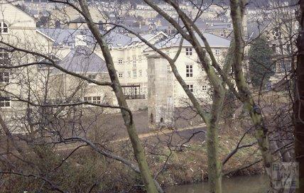 Walcot Gate from Bridgemead, Bathwick, 1992
