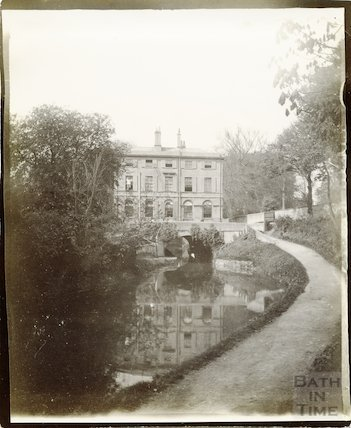 Cleveland House, Sydney Gardens, Kennet and Avon Canal, Bath 1896-1902