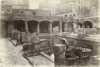 The Roman Baths c.1890